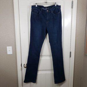 NY&Co TALL SOHO Bootcut Dark Wash Denim Jeans